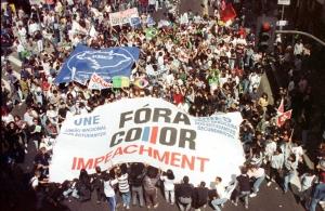 Geração Caras Pintadas, 1992 (Fonte: R7)