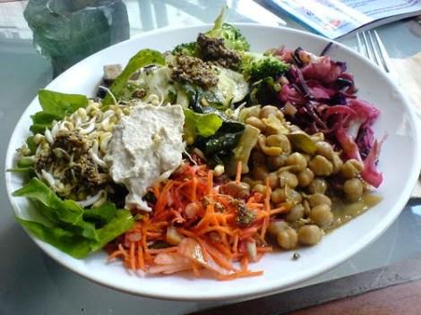 Exemplo de prato vegetariano saudável (Foto: Divulgação)