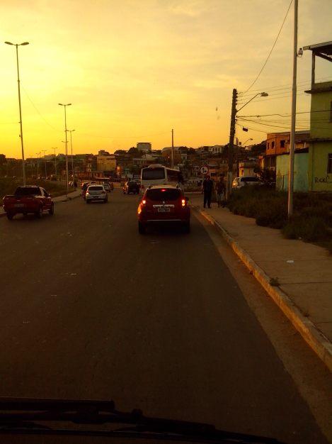 Manaus sofre dos problemas de uma típica cidade urbana (Foto: Agnes Sofia)