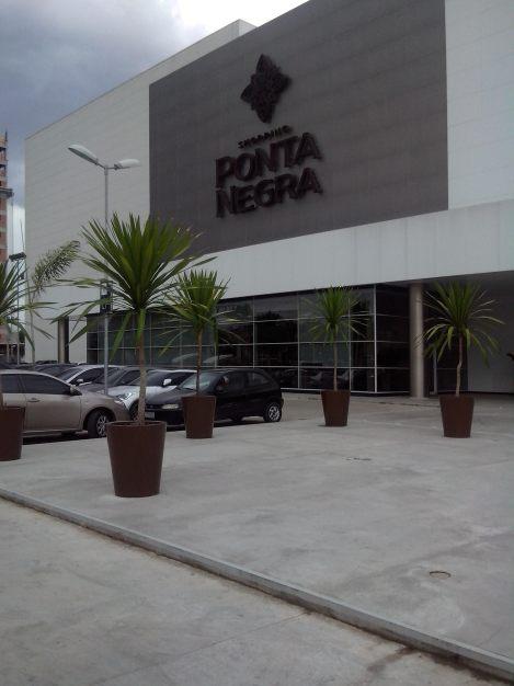 Ponta Negra Shopping é a mais nova atração do lado mais elitizado de Manaus (Foto: Agnes Sofia)