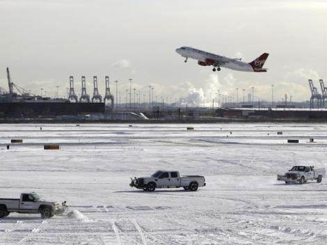 Aeroporto de Newark em Nova Jersey (Foto: Portal Terra)