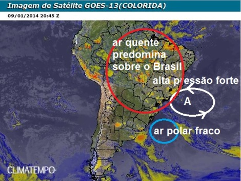 Imagem de Satélite Clima Tempo