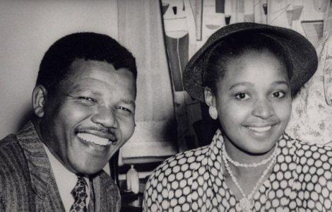 Mandela e sua segunda esposa, Winnie (Foto: Munaluche Bride)