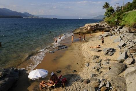 Praia Brava - Ilhabela (Foto: Portal UOL)