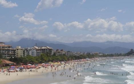 Praia Grande - Ubatuba (Foto: Portal Terra)