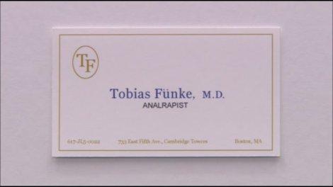 Terapeuta e analista, Tobias Funke, analrapist no humor incorreto e neologista de Arrested Development (Foto:  Fox)