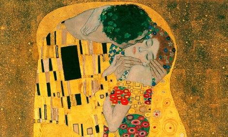 O beijo, Gustav Klimt